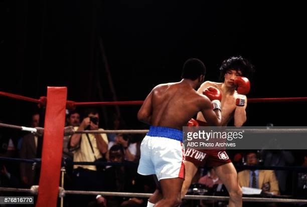 Aaron Pryor Kim Sanghyun boxing at Sands April 2 1983