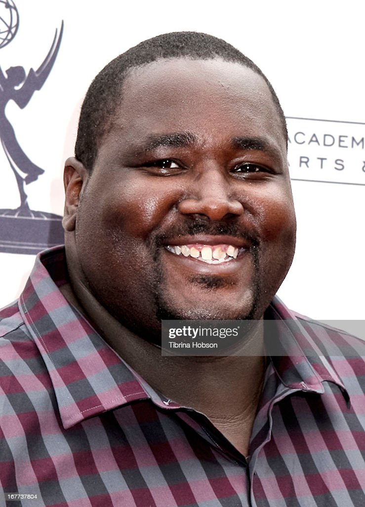 Aaron Quinton attends the Academy of Television Arts & Sciences presents an evening with Michael Buble at the Wadsworth Theater on April 28, 2013 in Los Angeles, California.