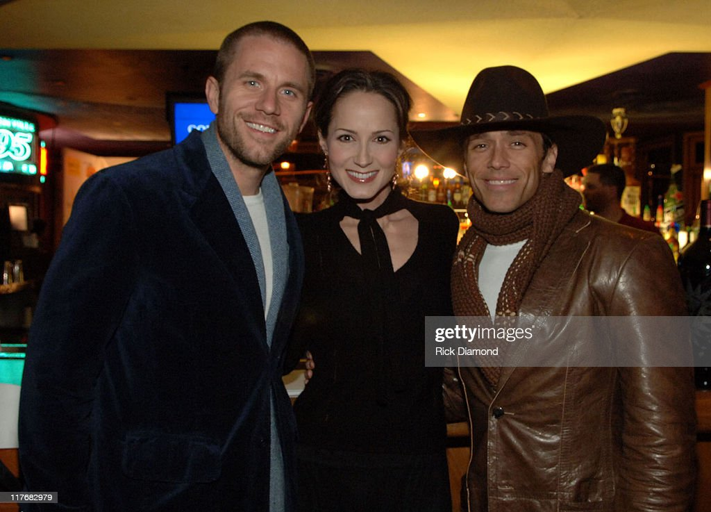 AaRon Reeves of Blue County, Chely Wright and Scott Reeves of Blue County