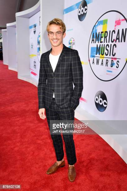 Aaron Rhodes attends the 2017 American Music Awards at Microsoft Theater on November 19 2017 in Los Angeles California