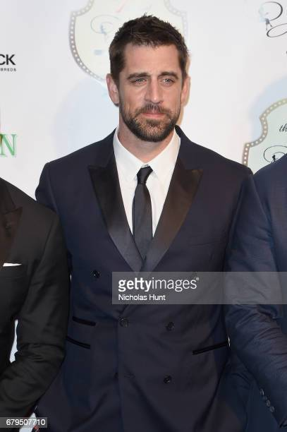 Aaron Rodgers attends the 7th Annual Fillies Stallions Kentucky Derby Party hosted by Black Rock Thoroughbreds and sponsored by Patron on May 5 2017...