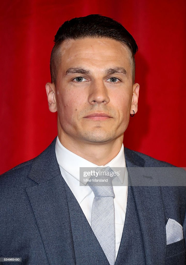 Aaron Sidwell attends the British Soap Awards 2016 at Hackney Empire on May 28, 2016 in London, England.
