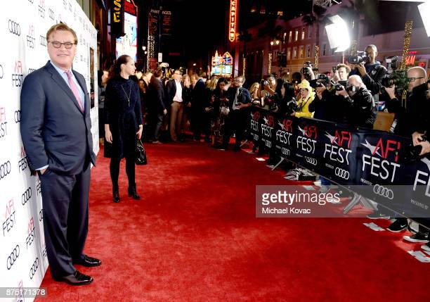 Aaron Sorkin attends the screening of 'Molly's Game' at the Closing Night Gala at AFI FEST 2017 Presented By Audi at TCL Chinese Theatre on November...
