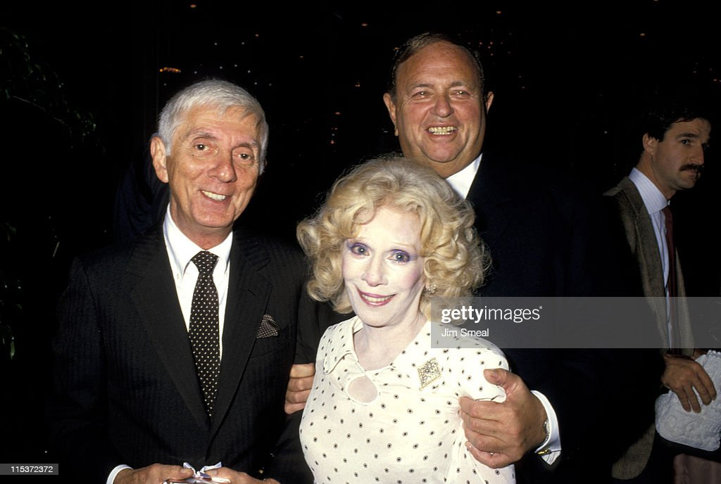 <a gi-track='captionPersonalityLinkClicked' href=/galleries/search?phrase=Aaron+Spelling&family=editorial&specificpeople=171121 ng-click='$event.stopPropagation()'>Aaron Spelling</a>, Carole Matthau, and <a gi-track='captionPersonalityLinkClicked' href=/galleries/search?phrase=Marvin+Davis&family=editorial&specificpeople=1130195 ng-click='$event.stopPropagation()'>Marvin Davis</a> during 1987 National Conference of Christians and Jews at The Beverly Hilton Hotel in Beverly Hills, CA, United States.