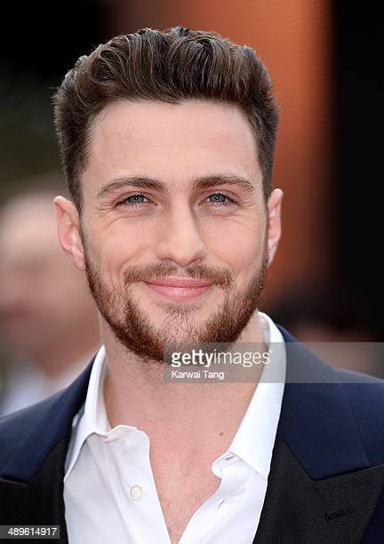 Aaron TaylorJohnson attends the European premiere of 'Godzilla' held at the Odeon Leicester Square on May 11 2014 in London England