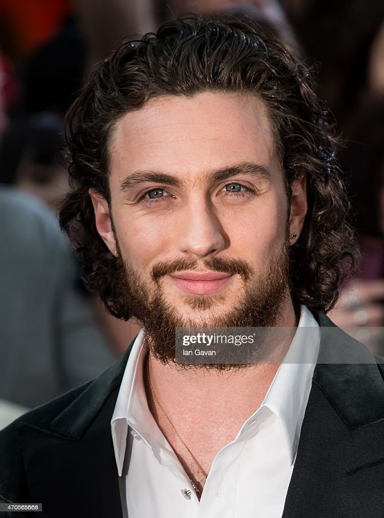 Aaron Taylor-Johnson attends the European premiere of 'The Avengers: Age Of Ultron' at Westfield London on April 21, 2015 in London, England.