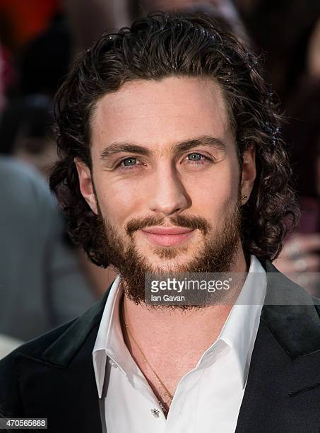Aaron TaylorJohnson attends the European premiere of 'The Avengers Age Of Ultron' at Westfield London on April 21 2015 in London England