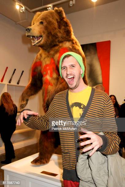 """Aaron Tripp attend Opera Gallery presents Kid Zoom's 'This City Will Eat Me Alive"""" at Opera Gallery on December 11th 2010 in New York City"""