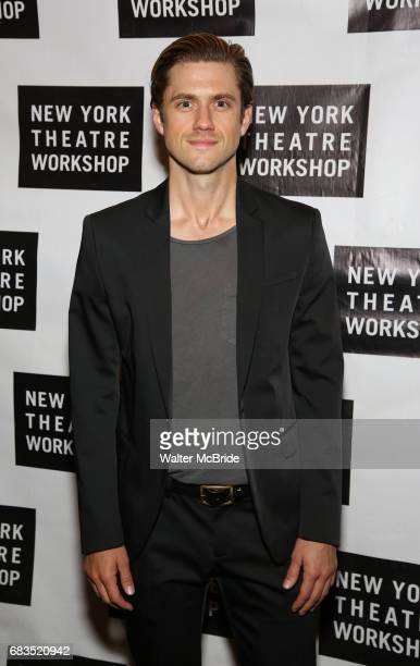 Aaron Tveit attends New York Theatre Workshop's 2017 Spring Gala at the Edison Ballroom on May 15 2017 in New York City