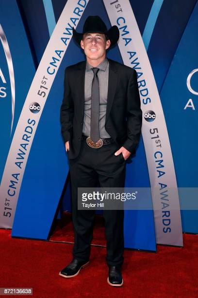 Aaron Watson attends the 51st annual CMA Awards at the Bridgestone Arena on November 8 2017 in Nashville Tennessee