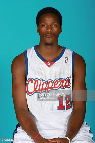 Aaron Williams of the Los Angeles Clippers poses for a portrait during NBA Media Day at Staples Center on October 1 2007 in Los Angeles California...