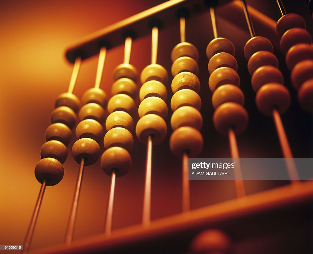 Abacus, close-up