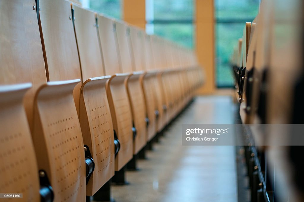 Abandoned Aisle : Stock Photo