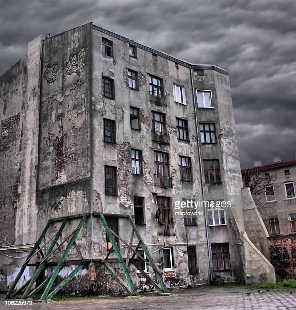 Abandonado, rotura edificio