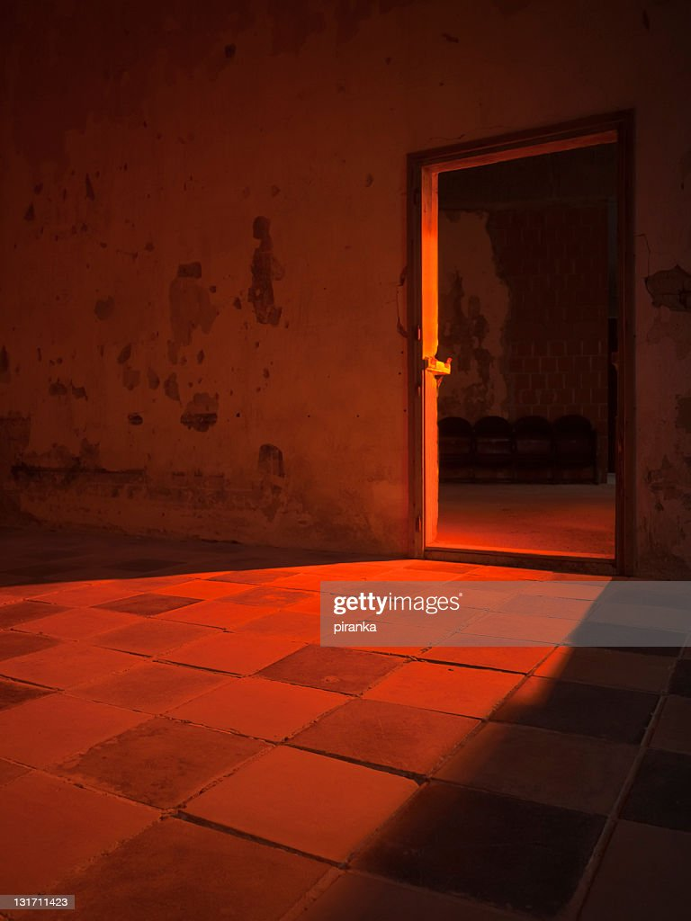 abandoned castle interior stock photo | getty images