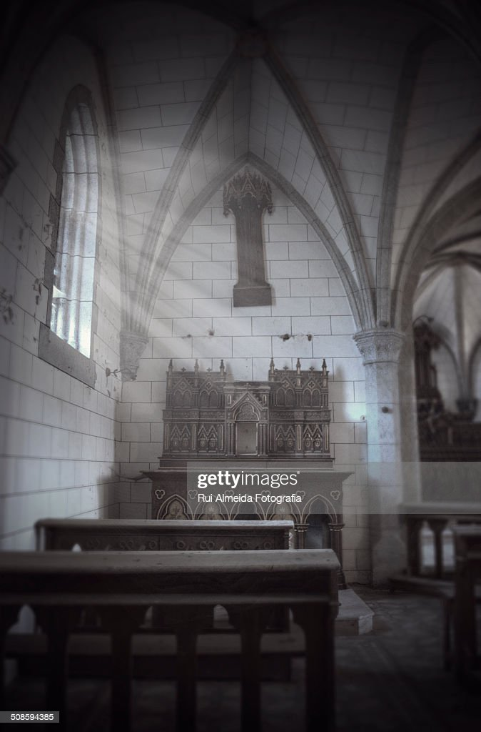 Abandoned church : Foto de stock