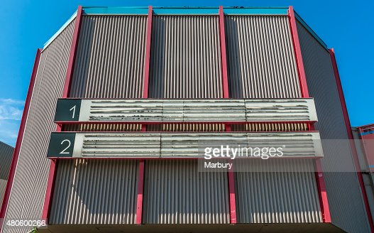 Abandoned Cinema : Stock Photo