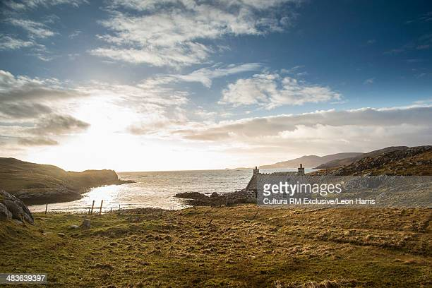 Abandoned croft on the Isle of Vatersay, Scotland