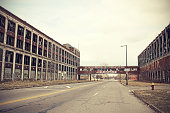 Abandoned Detroit Packard Plant