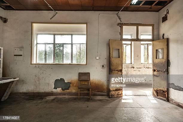 Verlassenen Fabrik