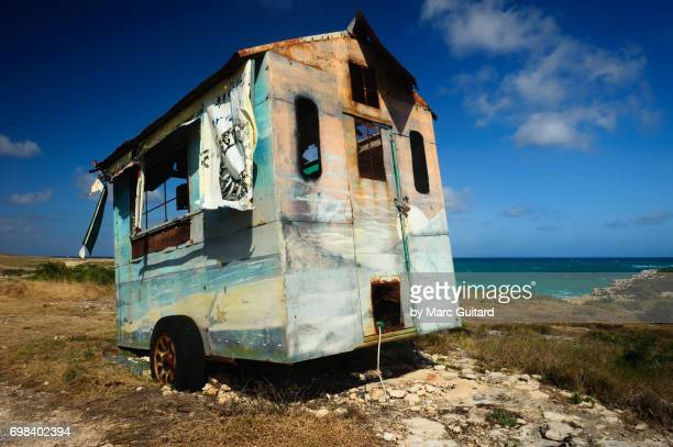 Abandoned Food Shack, Saint Philip Parish, Antigua