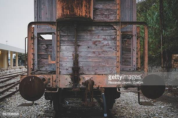 Abandoned Freight Train