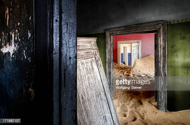 Abandoned house at Kolmanskop