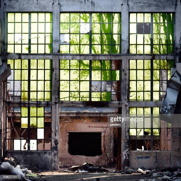 Abandonné Bâtiment industriel
