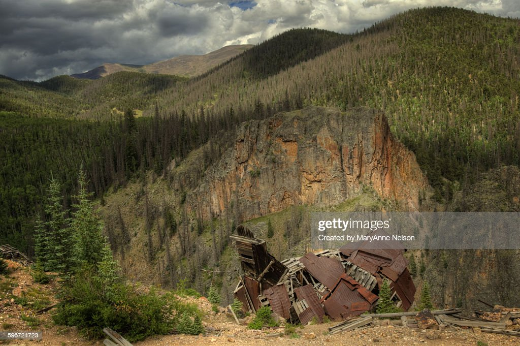 Abandoned mine by creede