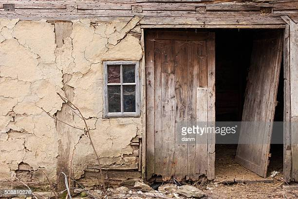 Abandoned old village house. High Details.