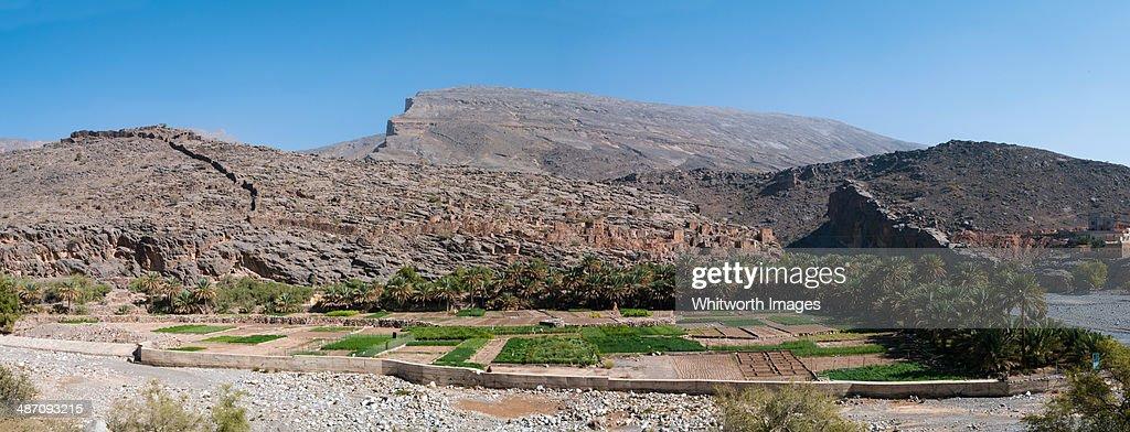 Abandoned Omani Village : Foto de stock