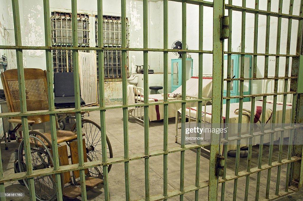 Abandoned Prison Hospital : Stock Photo