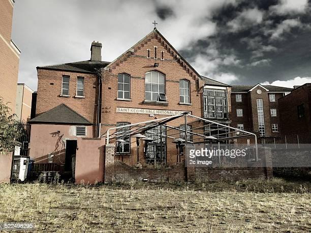 Abandoned pub Dublin Ireland