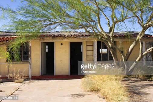 Abandoned rural building : Stock Photo