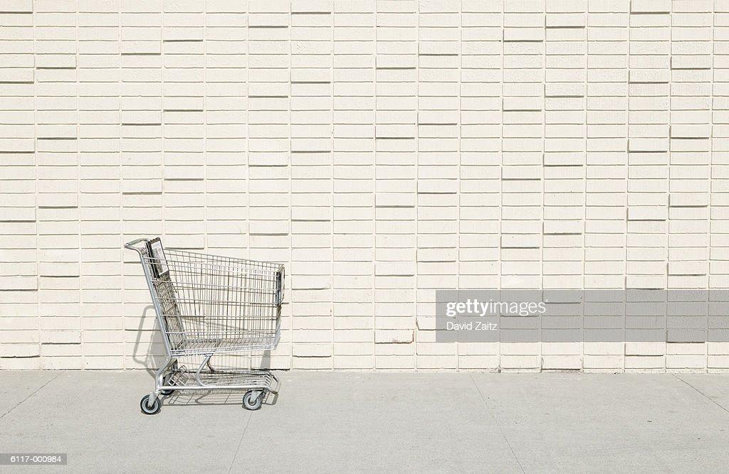 Abandoned Shopping Cart : Stock Photo