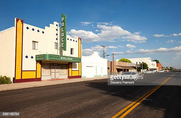 Abandoned theater in Marfa, Texas