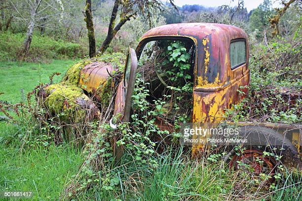 Abandoned Truck - Nehalem River - Oregon