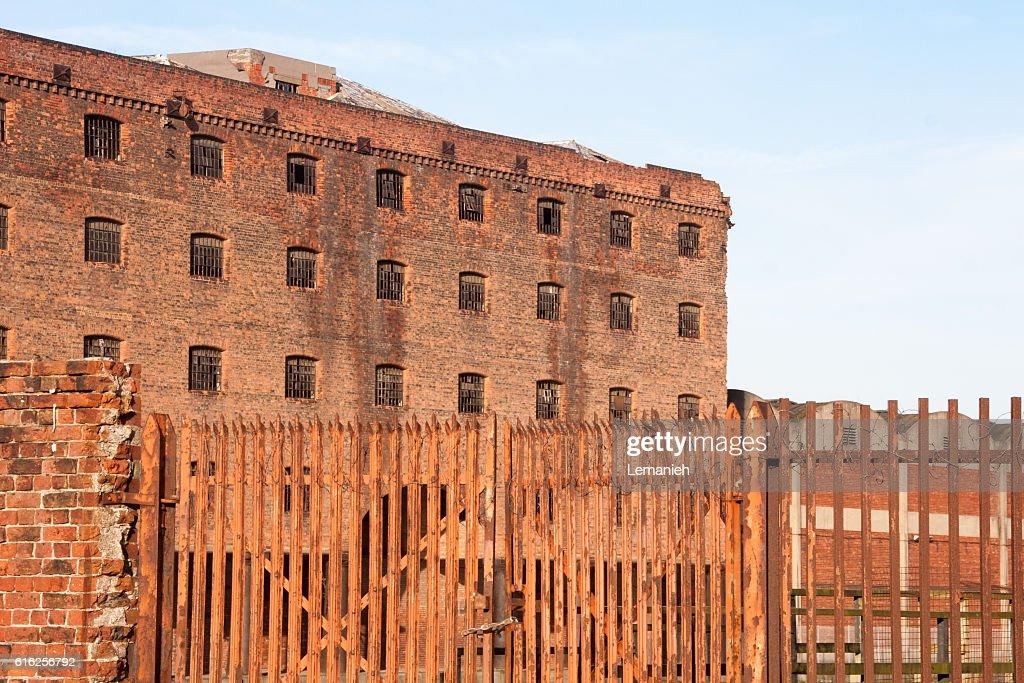 Abandoned Warehouses : Stock Photo