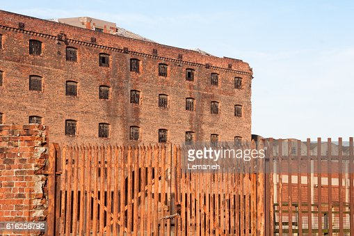 Abandoned Warehouses : Stock Photo