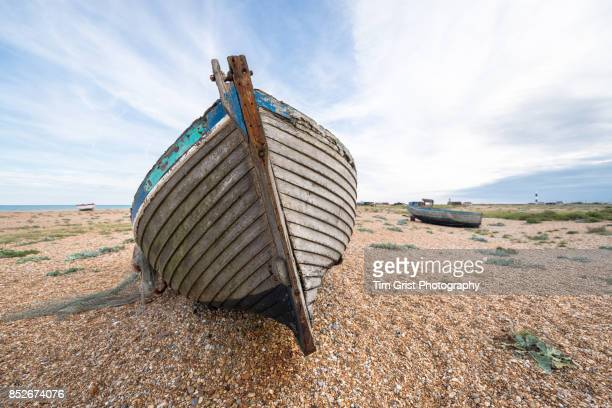 Abandoned Wooden Fishing Boats, Dungeness