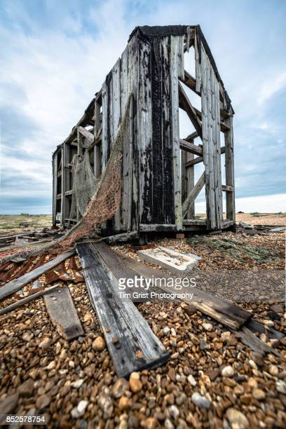 Abandoned Wooden Fishing Hut, Dungeness