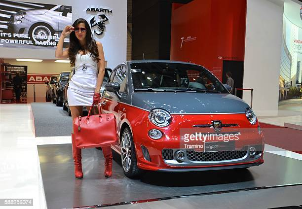 Abarth 595 Turismo on the motor show