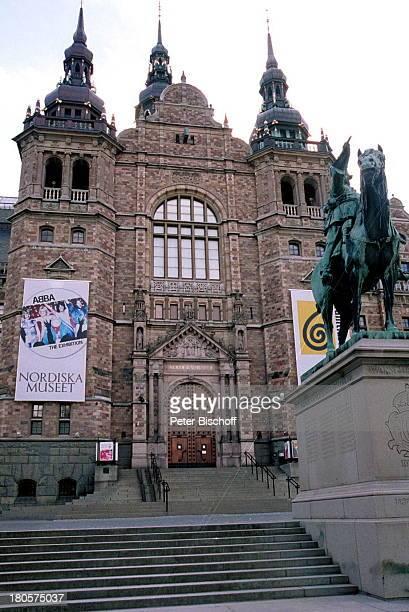 Ausstellung Nordisches MuseumStockholm Schweden PopGruppe Gebäude