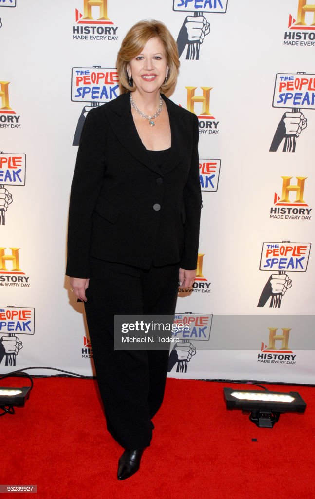 Abbe Raven attends a screening of ''The People Speak'' at Frederick P Rose Hall Jazz at Lincoln Center on November 19 2009 in New York City