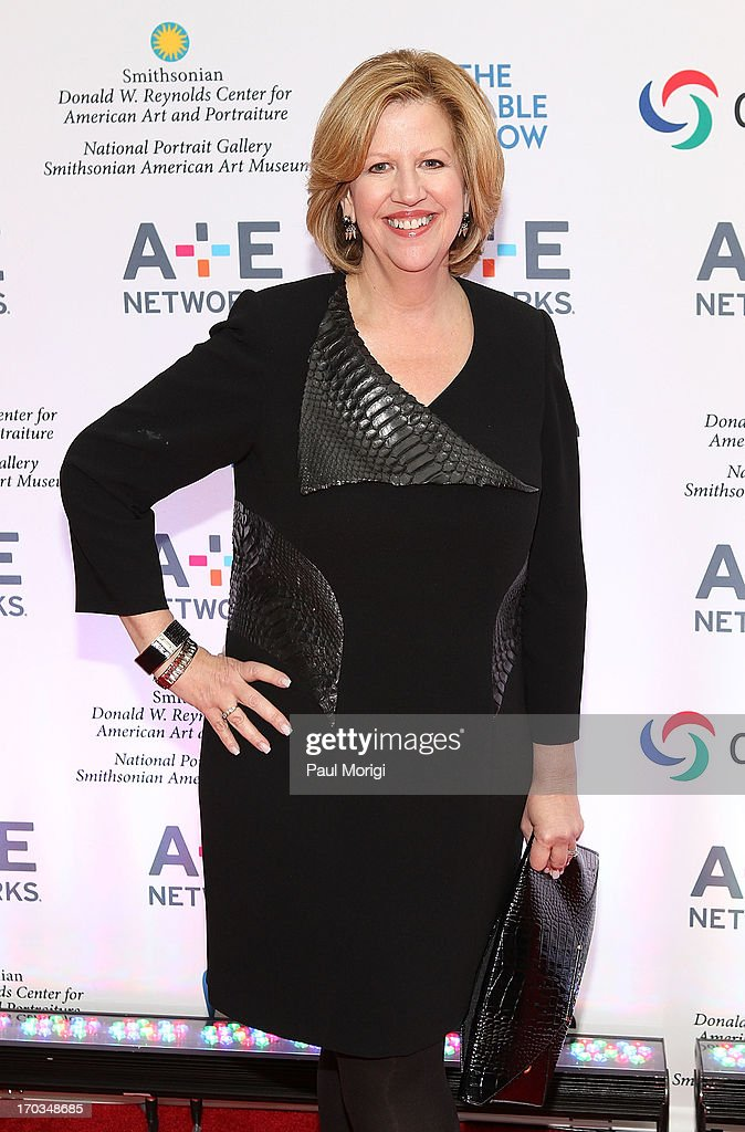 Abbe Raven Chairman AE Networks and cochair of The Cable Show 2013 arrives at the AE hosted NCTA Chairman's Reception at Smithsonian American Art...