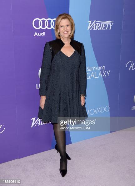 Abbe Raven Chairman of AE Networks arrives at Variety's 5th Annual Power of Women event presented by Lifetime at the Beverly Wilshire Four Seasons...