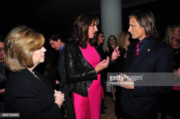 Abbe Raven Nancy Dubuc and Viggo Mortensen attend HISTORY hosts preview of THE PEOPLE SPEAK at Jazz at Lincon Center Rose theater NYC on November 19...