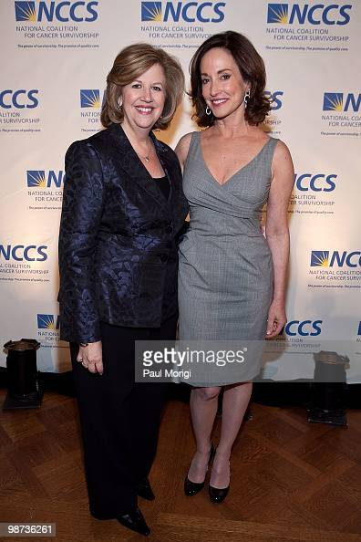 Abbe Raven President and CEO AE Television Networks and Lilly Tartikoff attend the 2010 NCCS Rays of Hope awards gala at the Andrew W Mellon...