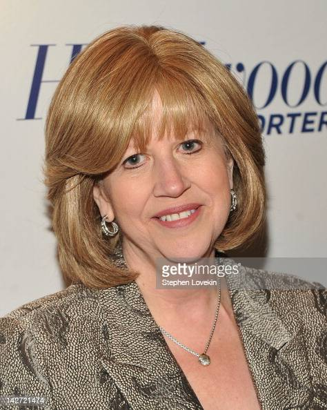 Abbe Raven President and CEO of AE Television Networks attends the Hollywood Reporter celebration of 'The 35 Most Powerful People in Media' at the...