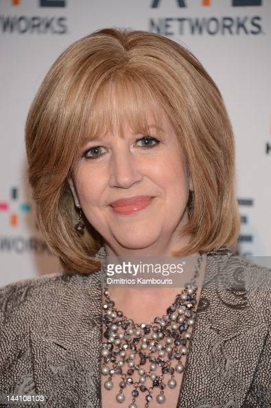 Abbe Raven President and CEO of AETN attends the AE Networks 2012 Upfront at Lincoln Center on May 9 2012 in New York City